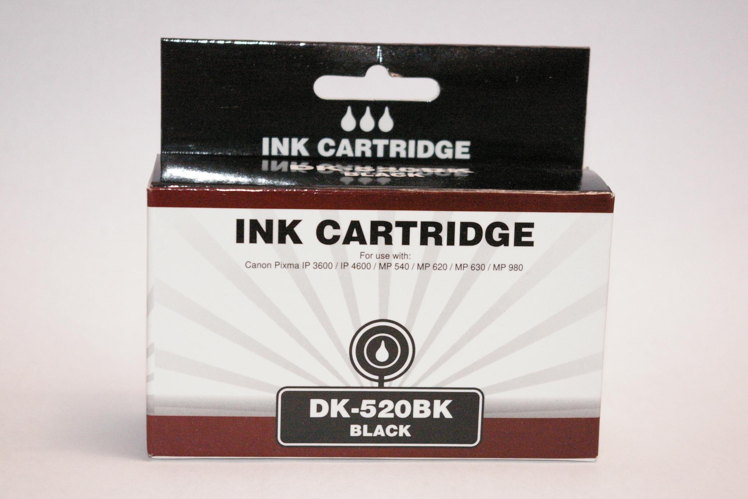 DK-520BK (Black), kompatibel zu PGI-520 (Black)