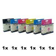 DK-T481, bis DK-T486, 6er Sparset, kompatibelzu T0481 bis T0486