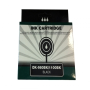 DK-980BK, DK-1100BK (Black) kompatibel zu Brother LC-980BK, LC-1100BK (Black)